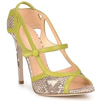 Sapatos Mulher Sandálias Roberto Cavalli RPS678 Verde
