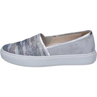 Sapatos Mulher Slip on Janet Sport Sneakers BT420 Cinza