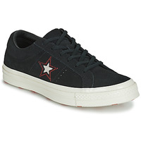 Sapatos Mulher Sapatilhas Converse ONE STAR LOVE IN THE DETAILS SUEDE OX Preto