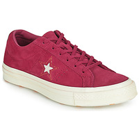 Sapatos Mulher Sapatilhas Converse ONE STAR LOVE IN THE DETAILS SUEDE OX Rosa fúchia