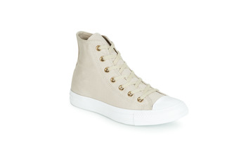 Sapatos Mulher Sapatilhas de cano-alto Converse CHUCK TAYLOR ALL STAR HEARTS CANVAS HI Cinza