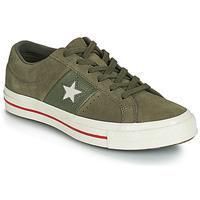 Sapatos Mulher Sapatilhas Converse ONE STAR CUIR FASHION BALLER SUEDE OX Cáqui