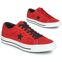 Sapatos Sapatilhas Converse ONE STAR DARK STAR VINTAGE SUEDE OX Vermelho