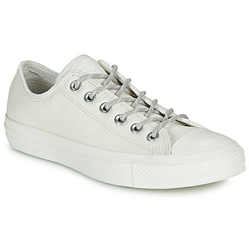 Sapatos Sapatilhas Converse CHUCK TAYLOR ALL STAR LEATHER OX Bege