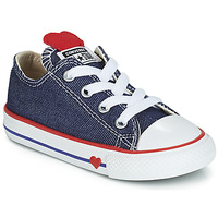 Sapatos Rapariga Sapatilhas Converse CHUCK TAYLOR ALL STAR SUCKER FOR LOVE DENIM OX Azul