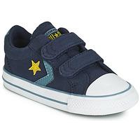 Sapatos Rapaz Sapatilhas Converse STAR PLAYER 2V CANVAS OX Azul