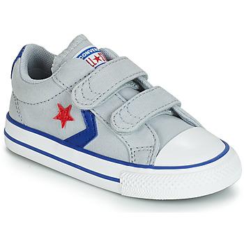 Sapatos Criança Sapatilhas Converse STAR PLAYER 2V CANVAS OX Cinza