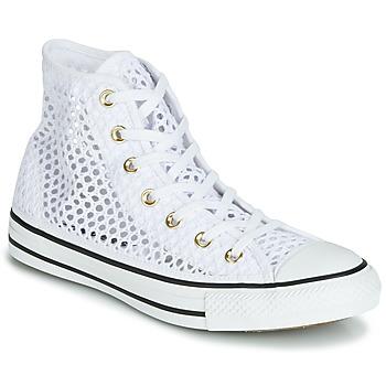 Sapatos Mulher Sapatilhas de cano-alto Converse CHUCK TAYLOR ALL STAR HANDMADE CROCHET HI Branco