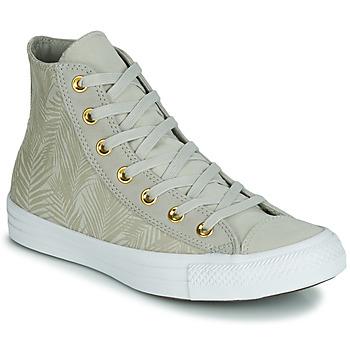 Sapatos Mulher Sapatilhas de cano-alto Converse CHUCK TAYLOR ALL STAR SUMMER PALMS HI Verde