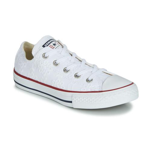 Sapatos Rapariga Sapatilhas Converse CHUCK TAYLOR ALL STAR BROADERIE ANGLIAS OX Branco