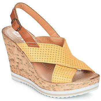 Sapatos Mulher Sandálias Elue par nous EMPIRE Amarelo