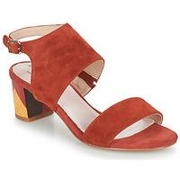 Sapatos Mulher Sandálias Metamorf'Ose EMBARQUA Vermelho