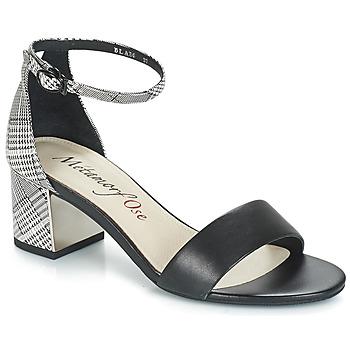 Sapatos Mulher Sandálias Metamorf'Ose EMBRASA Preto