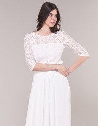 Textil Mulher Tops / Blusas Betty London CONSTANCE Branco
