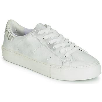 Sapatos Mulher Sapatilhas No Name ARCADE Branco / Prateado