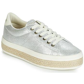 Sapatos Mulher Sapatilhas No Name MALIBU Prata
