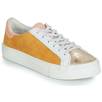Sapatos Mulher Sapatilhas No Name ARCADE Branco / Ouro / Amarelo
