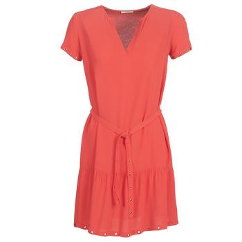 Textil Mulher Vestidos curtos Ikks BN30115-35 Coral / Rosa