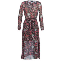 Textil Mulher Vestidos compridos Ikks BN30065-02 Preto / Vermelho / Cinza