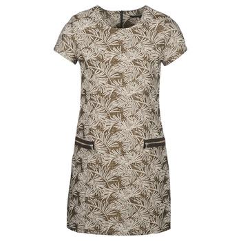 Textil Mulher Vestidos compridos Ikks BN30165-65 Cáqui / Bege