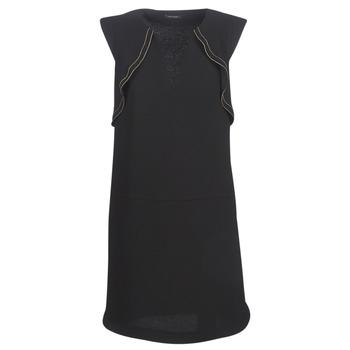 Textil Mulher Vestidos curtos Ikks BN31075-02 Preto