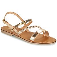 Sapatos Mulher Sandálias Les Tropéziennes par M Belarbi BATRESSE Ouro