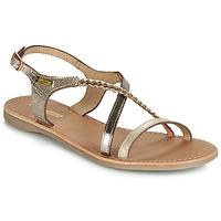 Sapatos Mulher Sandálias Les Tropéziennes par M Belarbi HANANO Ouro
