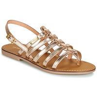 Sapatos Mulher Sandálias Les Tropéziennes par M Belarbi HERILO Ouro
