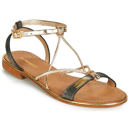 Sapatos Mulher Sandálias Les Tropéziennes par M Belarbi HIRONDEL Preto / Íris
