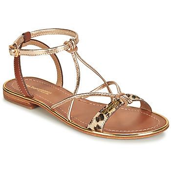 Sapatos Mulher Sandálias Les Tropéziennes par M Belarbi HIRONDEL Leopardo / Ouro