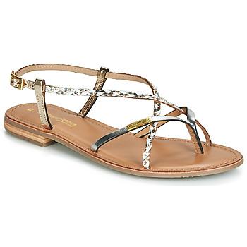 Sapatos Mulher Sandálias Les Tropéziennes par M Belarbi MONATRES Branco / Ouro