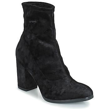 Sapatos Mulher Botins Caprice  Preto / Veludo