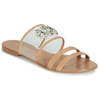 Sapatos Mulher Chinelos KG by Kurt Geiger PIA VINYL SANDAL Camel
