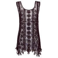 Textil Mulher Vestidos curtos Banana Moon JOSY DREAMLAND Preto