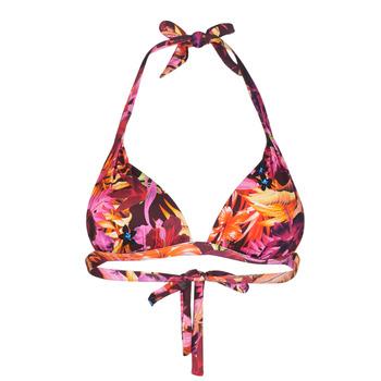 Textil Mulher Biquínis separados Banana Moon SIMO TROPISUN Rosa / Multicolor