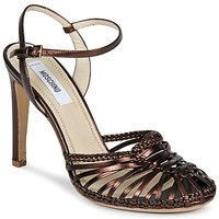 Sapatos Mulher Sandálias Moschino MA1603 ébano