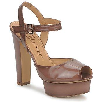 Sapatos Mulher Sandálias Eva Turner ERSILIA Castanho