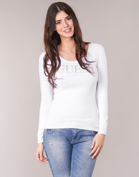 Textil Mulher camisolas Guess EMILY Branco