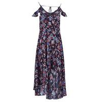 Textil Mulher Vestidos compridos Guess BORA Preto / Multicolor