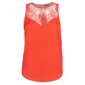 Textil Mulher Tops / Blusas Guess SCARLET Vermelho