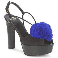 Sapatos Mulher Sandálias Moschino Cheap & CHIC CA1608 Preto-Azul