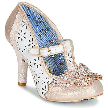 Sapatos Mulher Escarpim Irregular Choice PAPILLON Branco