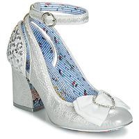 Sapatos Mulher Escarpim Irregular Choice DEITY Prata