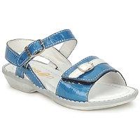 Sapatos Rapariga Sandálias GBB CARAIBES FIZZ Azul / Branco