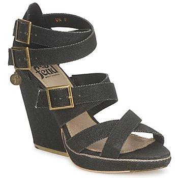 Sapatos Mulher Sandálias Feud WASP Preto