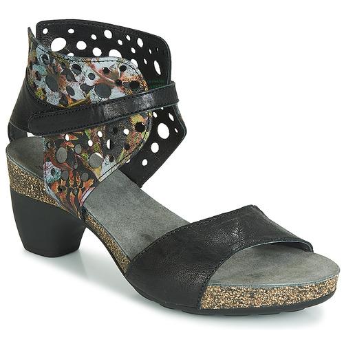 Sapatos Mulher Sandálias Think ZEG Preto