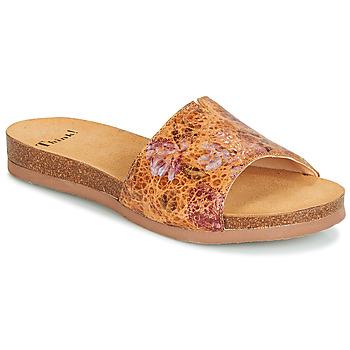 Sapatos Mulher Chinelos Think TANA Castanho