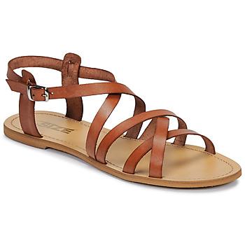 Sapatos Mulher Sandálias So Size IDITRON Castanho