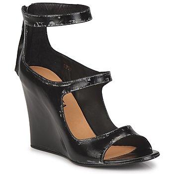 Sapatos Mulher Sandálias Premiata 2830 LUCE Preto