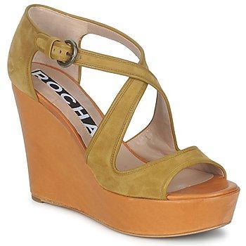 Sapatos Mulher Sandálias Rochas RO18131 Castanho